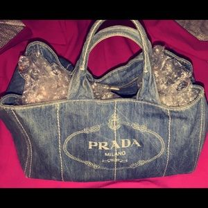 DENIM PRADA BAG
